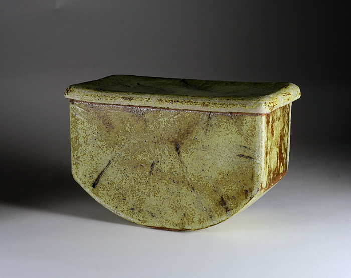 Rectangular Rocker Vessel: Large by Ann Bates - Click Image to Close