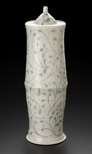 Life Vine Tall Urn by Lucy Fagella - Click Image to Close